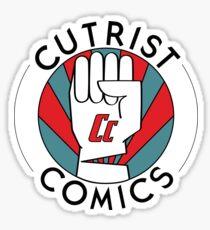 Cutrist Comics Logo Sticker