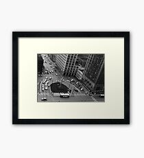 Downtown Youngstown - Central Square, 1960 Framed Print
