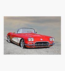 1958 Corvette Roadster I Photographic Print