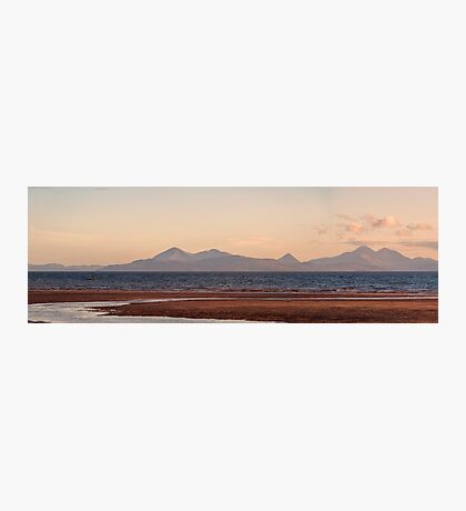 Isle of Skye From Applecross Panorama Photographic Print
