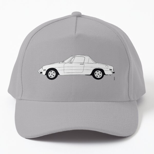 Alfa Romeo Spider Cabriolet Roadster Baseball Cap