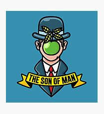 The son of man  Photographic Print
