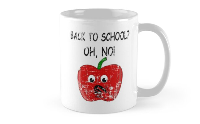 Distressed Apple Back To School by Almdrs