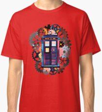 Colorful TARDIS Art Classic T-Shirt