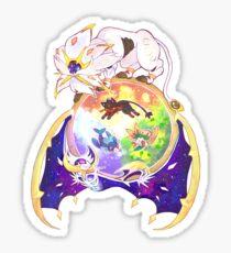 Pokemon Sun and Moon Sticker