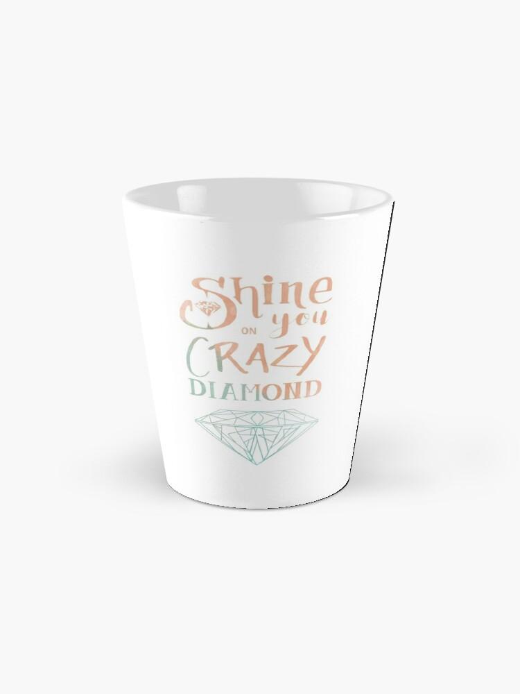 Mug ''Shine on you crazy diamond - Watercolor': autre vue