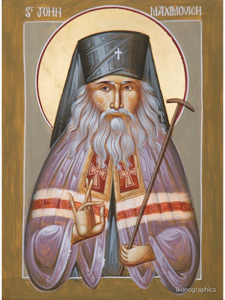 St John of Shanghai and San Francisco by ikonographics