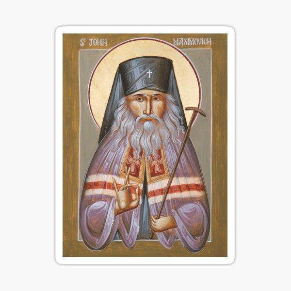 St John of Shanghai and San Francisco Sticker