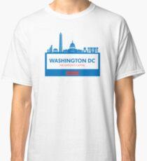 Washington DC Capital Shirt Classic T-Shirt