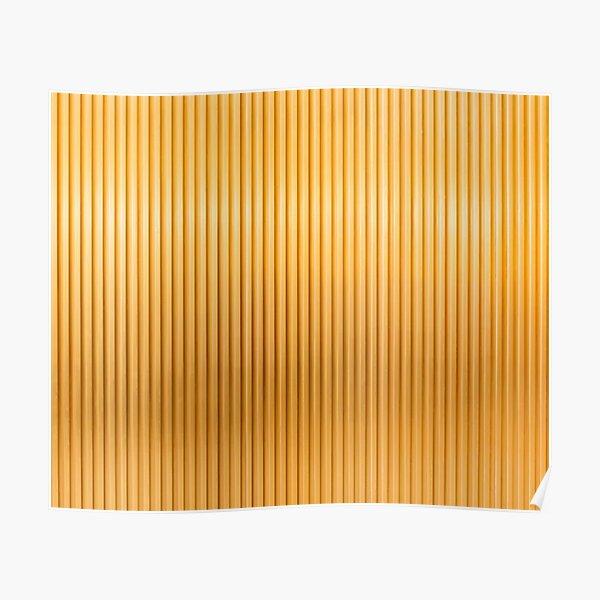 Golden color design. Poster