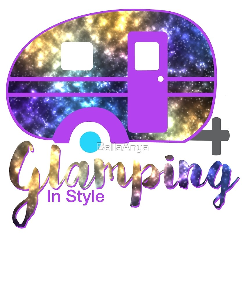 Glamping Galaxy Camper for the Happy Glamper by BellaAnya