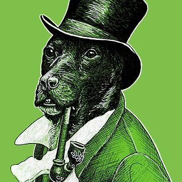 Gentleman Doggo by buggybear
