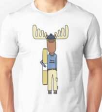hang moose snowboarder deck Unisex T-Shirt