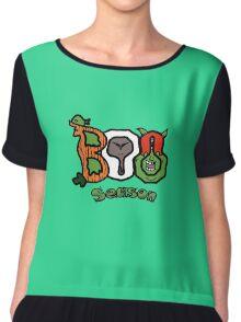 Boo Season Women's Chiffon Top