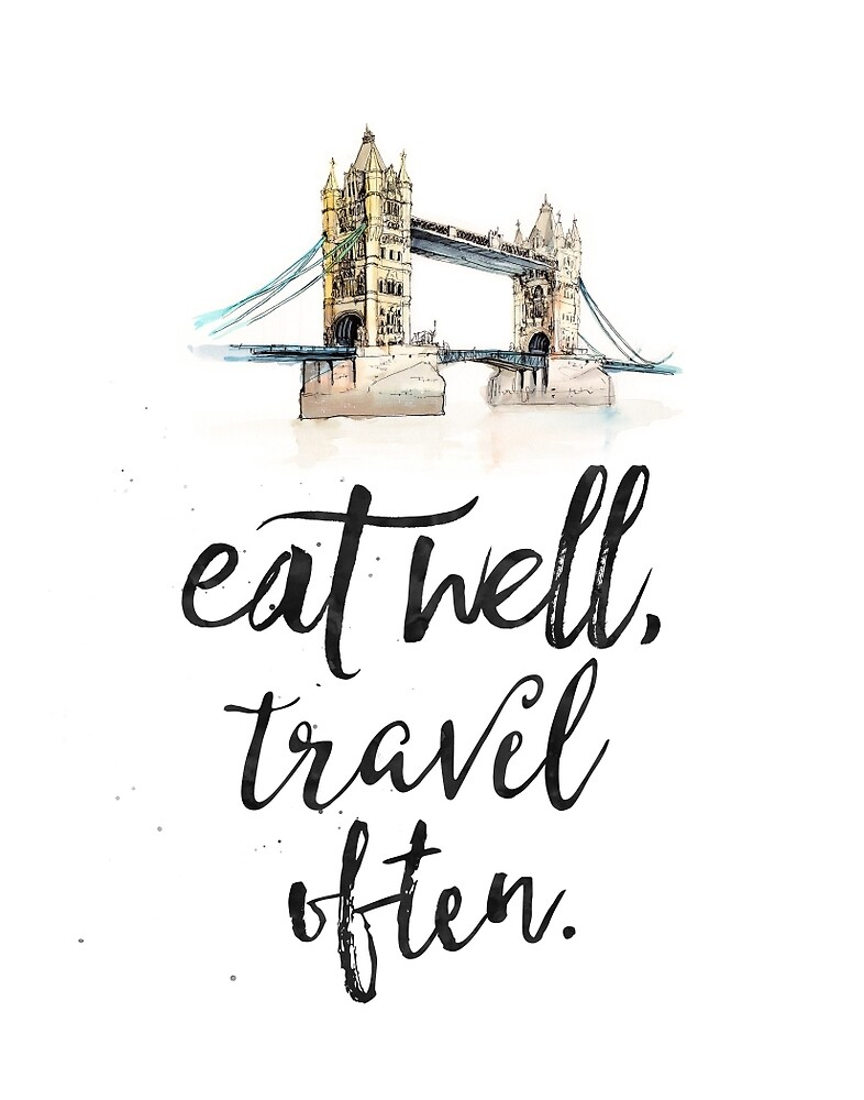 Eat well travel often - London - Tower Bridge by Pranatheory