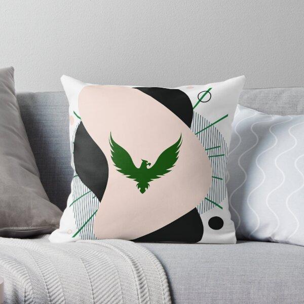 eagle bird design  Throw Pillow