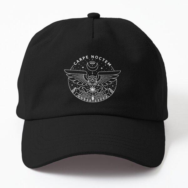 Carpe Noctem / White Dad Hat