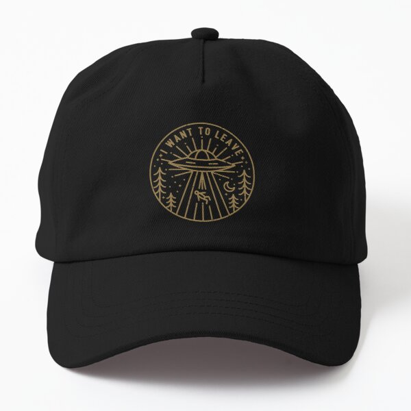 I Want To Leave - Pocket Dad Hat