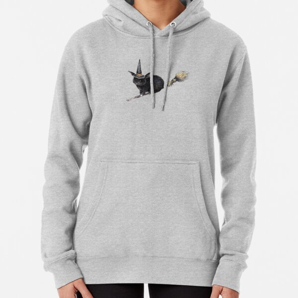 Flight of the Witch Bunnies Pullover Hoodie