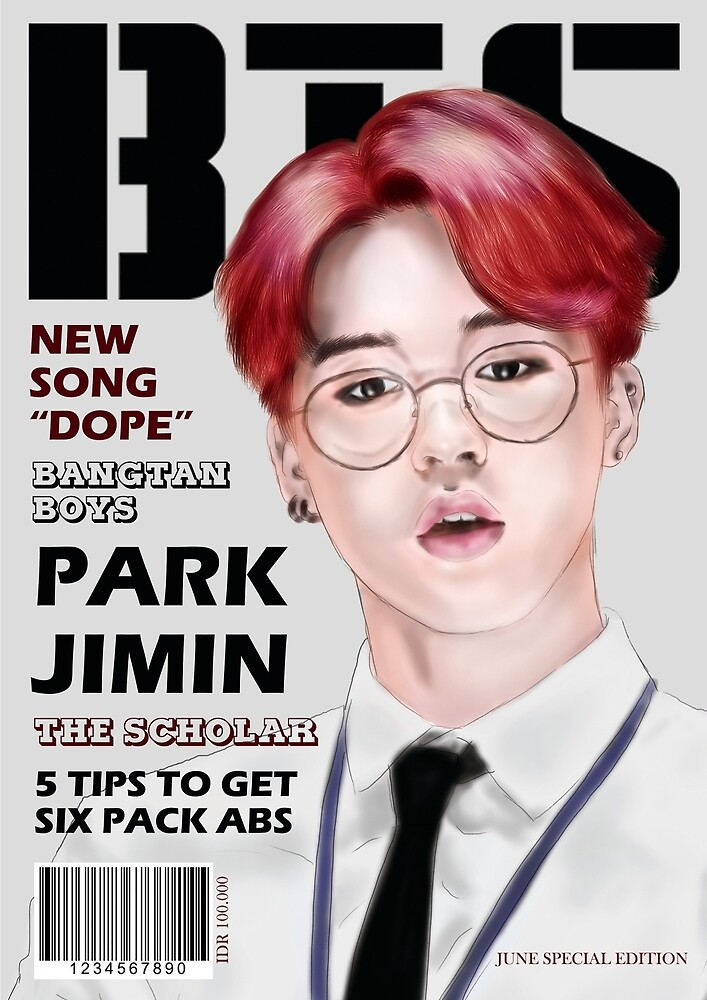 Park Jimin Dope by scapity