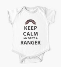 KEEP CALM MY DAD'S A RANGER Kids Clothes