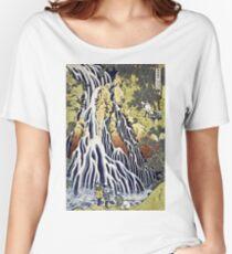 Hokusai Katsushika - The Kirifuri Waterfall  Women's Relaxed Fit T-Shirt