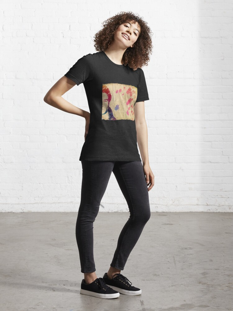 Alternate view of Eddie Redmayne Watercolours * Price Reduced * Essential T-Shirt