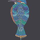 Kingfisher Totem by Jezhawk
