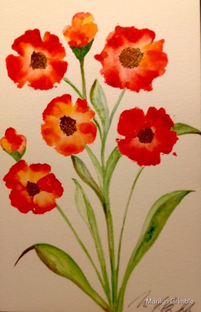 FLOWER POWER  by Marilyn Grimble