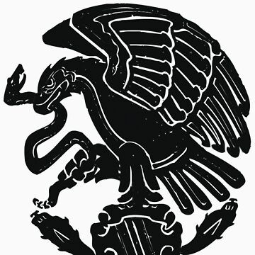 Mexico City Emblem by aztechnician