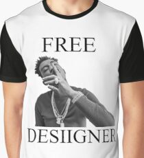Free Desiigner Graphic T-Shirt