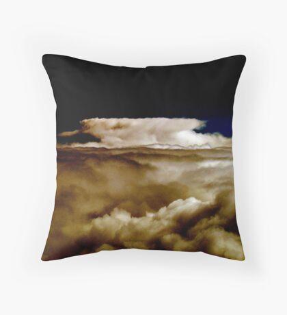 cloud - Cappuccino Throw Pillow