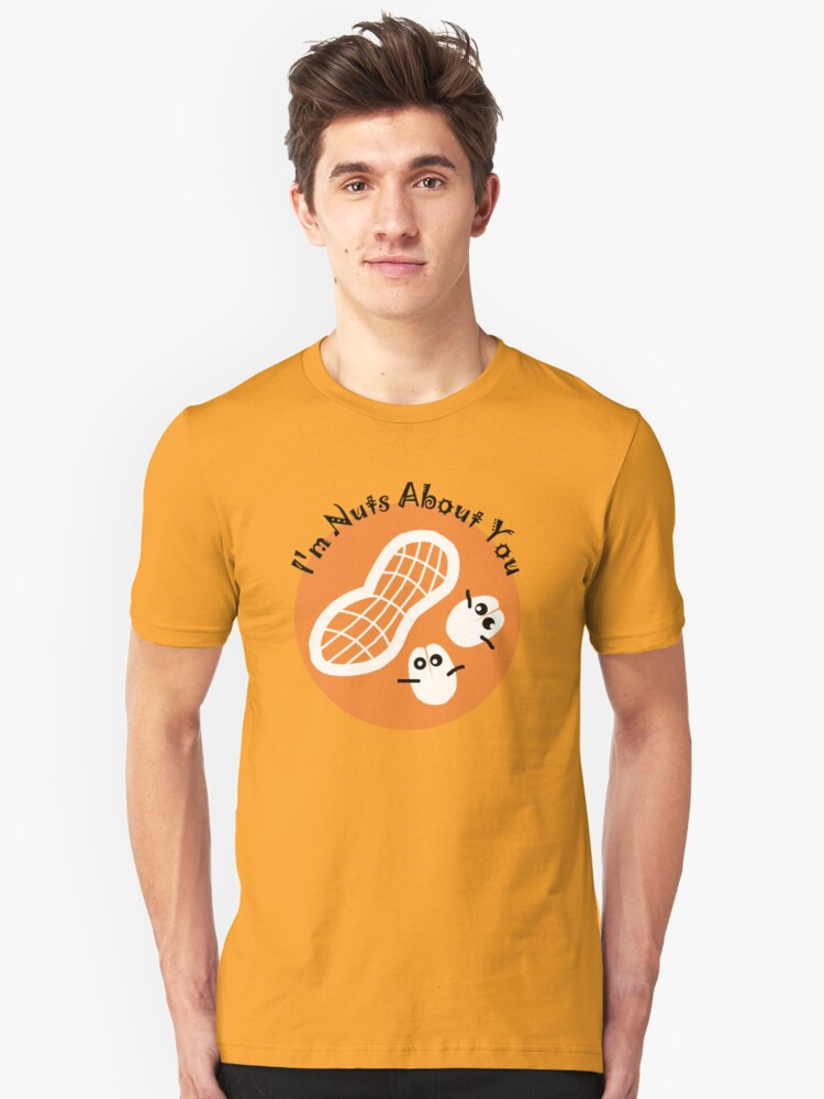 Nuts About You Unisex T-Shirt Front