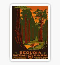 Sequoia National Park USA Sticker