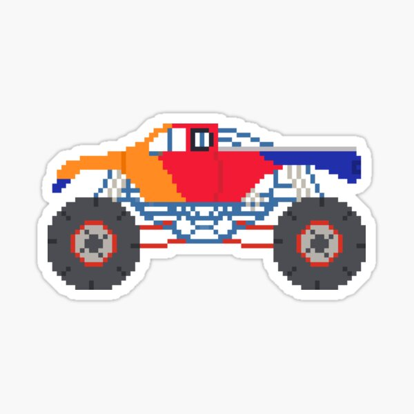 Monster Truck - The Kids' Picture Show Sticker