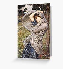 John William Waterhouse - Boreas  Greeting Card
