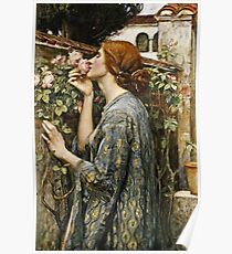 John William Waterhouse - The Soul Of The Rose  Poster
