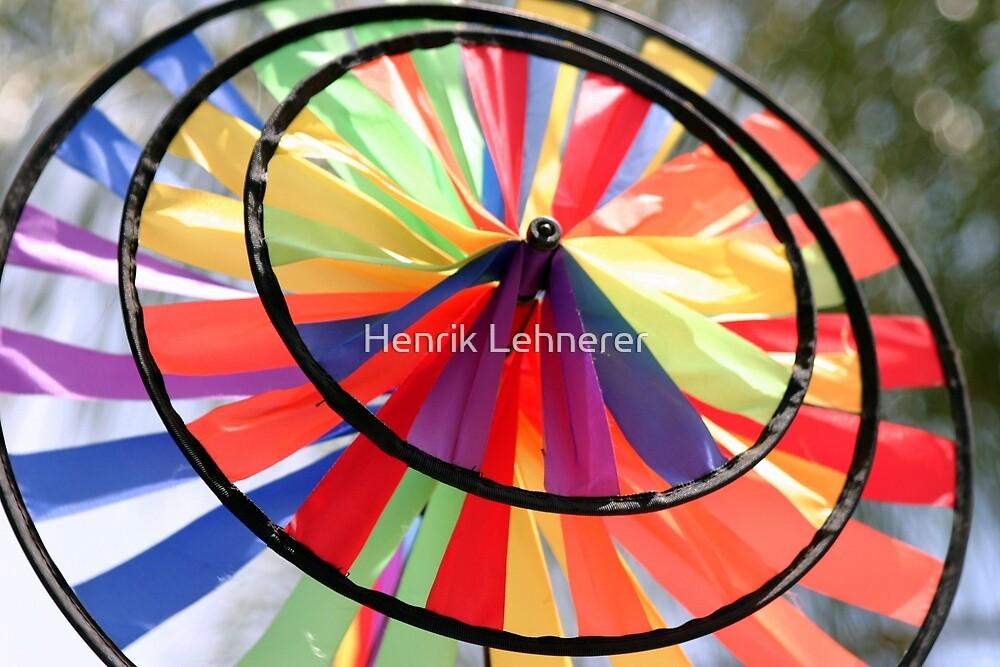 Wind Wheel by Henrik Lehnerer