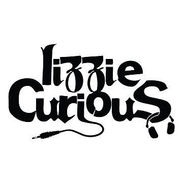 Lizzie Curious Logo (black) by LizzieCurious