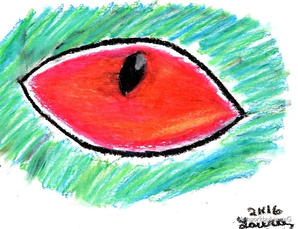 Eye Drawing 1 by ArtworkbyLauraG