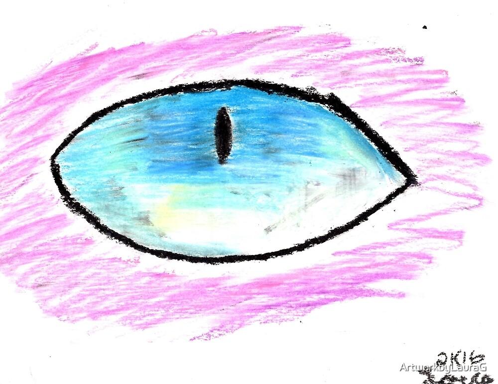 Eye Drawing 3 by ArtworkbyLauraG