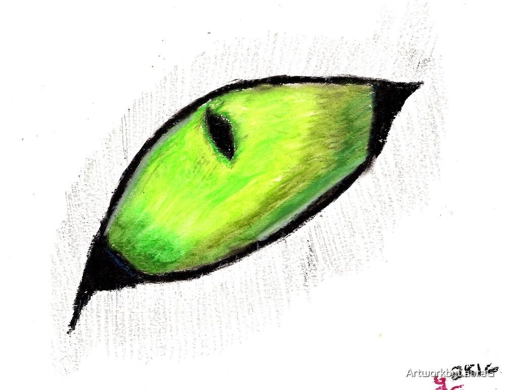 Eye Drawing 4 by ArtworkbyLauraG