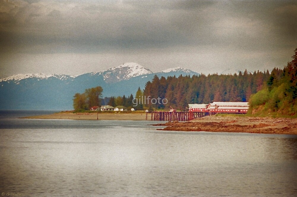 Hoonah Icy Strait Cannery Point by gillfoto