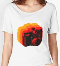Holga Square T-Shirt Women's Relaxed Fit T-Shirt