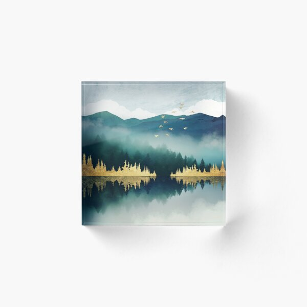 Mist Reflection Acrylic Block