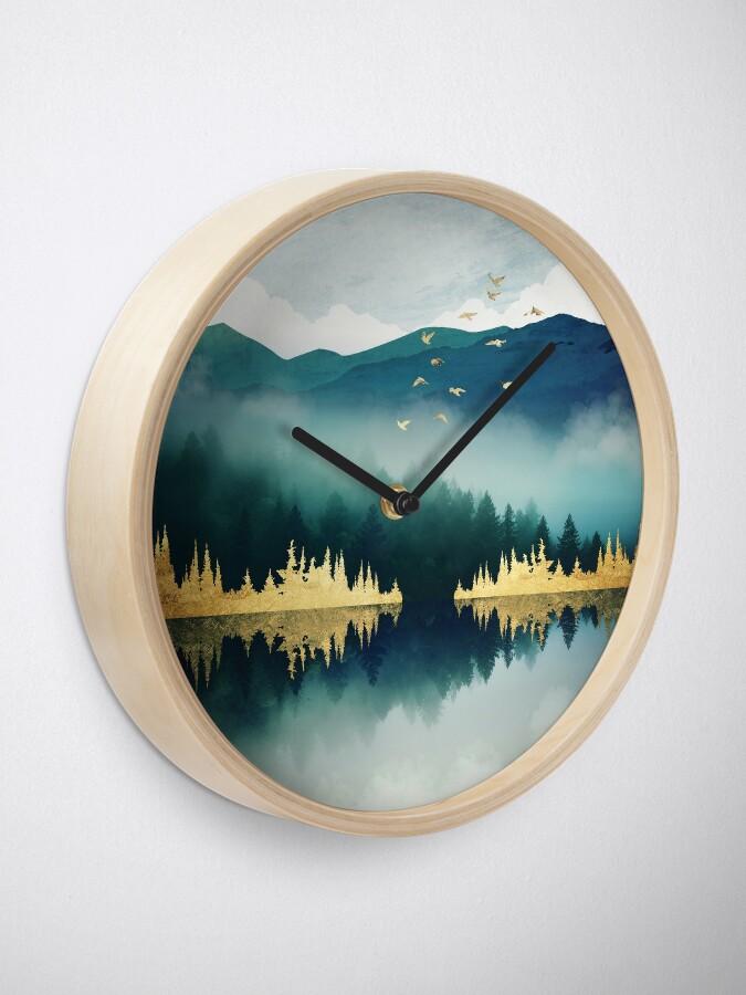 Alternate view of Mist Reflection Clock