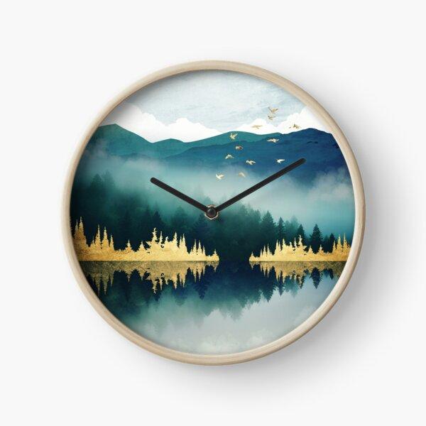 Mist Reflection Clock