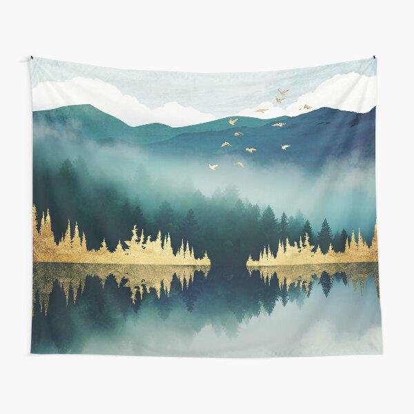 Mist Reflection Tapestry