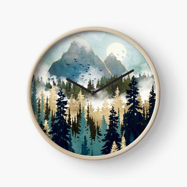 Misty Pines Clock