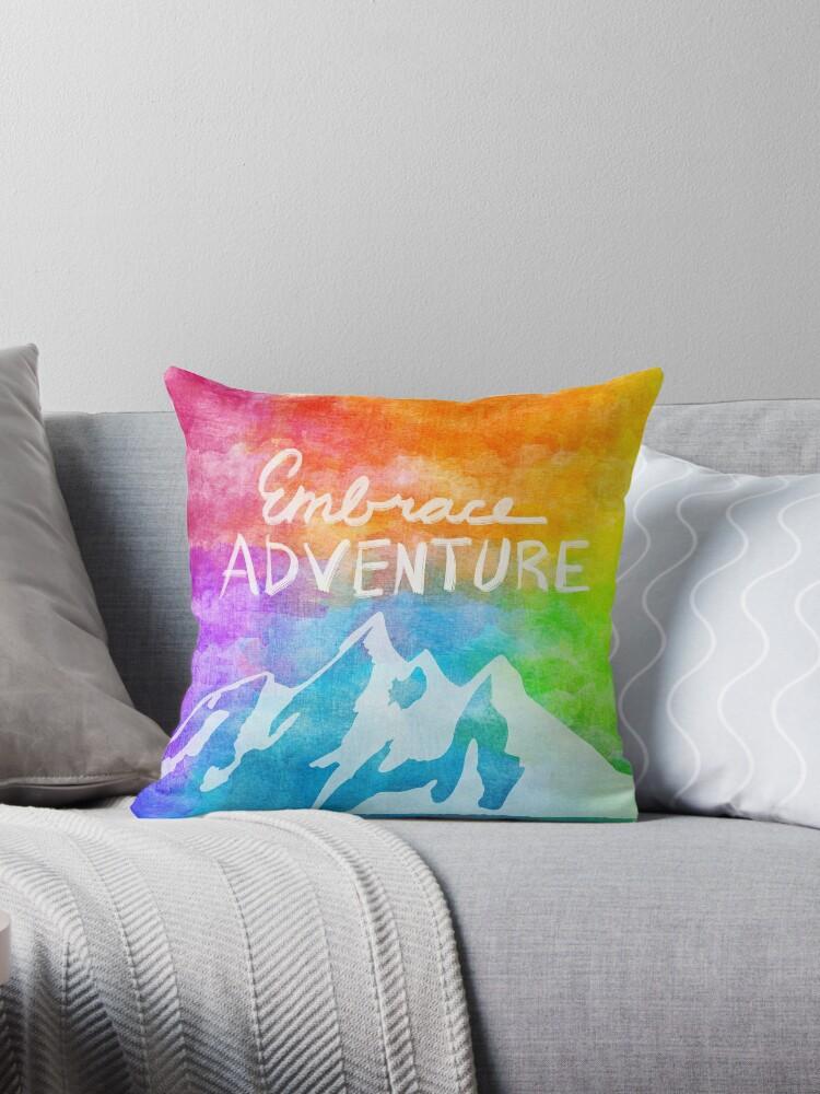 """Embrace Adventure"" Inspirational Word Art by LegitChristine"